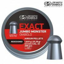 JSB Exact Monster 25.39gr 5.52 .22 (x200)